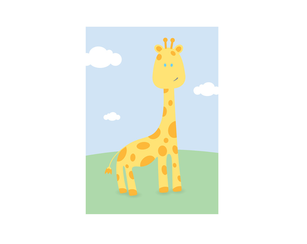 Illustration-nursery-Giraffe