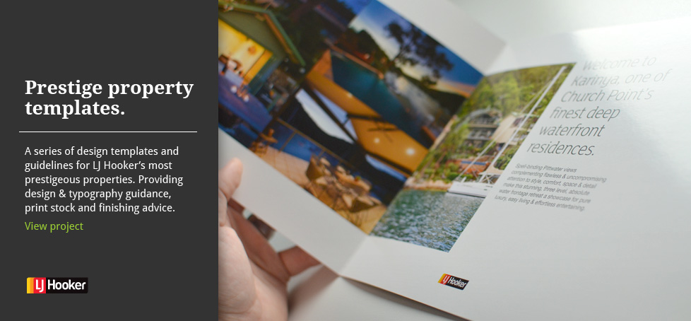 Prestige Property Brochures