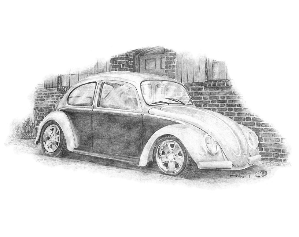 drawing-pencil-vw-beetle-homer-machine7