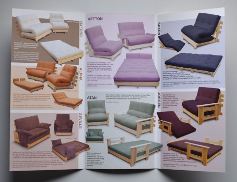Futon Design – Sales & Marketing Materials