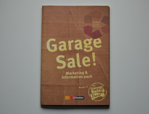 LJ Hooker &#8211; Garage Sale Trail Marketing Kit