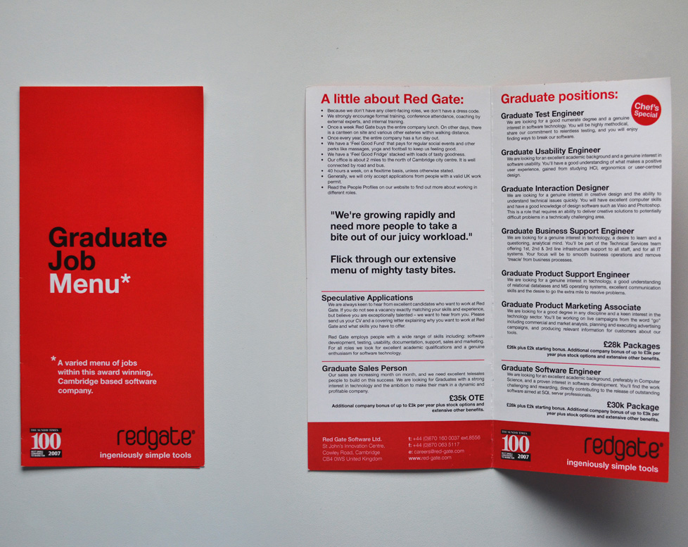 redgate-job-menu