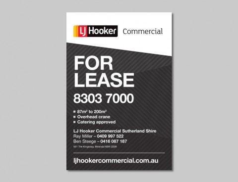 LJ Hooker Commercial – Brand Refresh Concepts